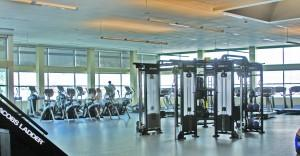 The expanded Rec Center includes new equipment such as that shown above. Rachael Deegan | The Scribe