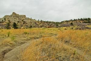 The view of the trail heading toward Pulpit Rock. Austin Chasse | The Scribe
