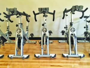 Exercise bikes in the Rec Center are one of many options students can pursue for fitness. Hannah Harvey | The Scribe