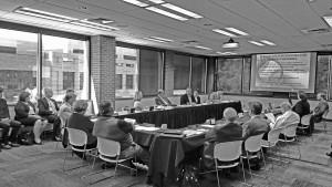 The CU Board of Regents listens to the proposed athletic expansion last semester. Archives | The Scribe