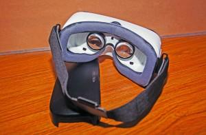 The Samsung Gear VR allows the user to participate in a virtual reality. Megan Lunsford | The Scribe