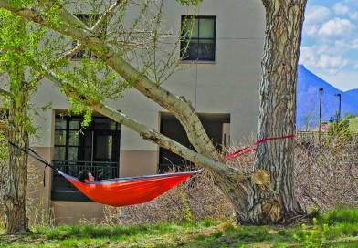 Survive dorm room boredom, go outside