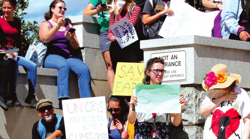 UCCS students and faculty participate in Global Climate Strike