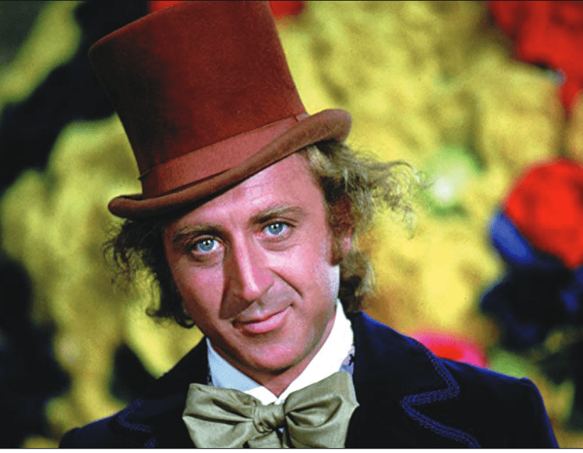 "Gene Wilder in ""Willy Wonka and the Choclate Factory"" (1971). (Warner Bros. Studios)"