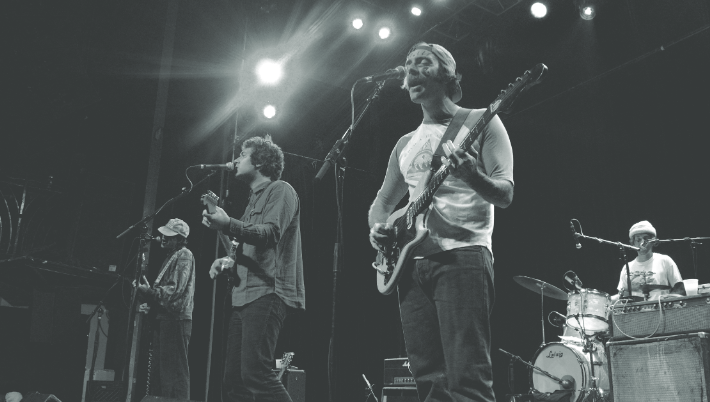 Allah Las performing at The Gothic Theater in Denver, Dec. 2019. (Taylor Burnfi eld|The Scribe