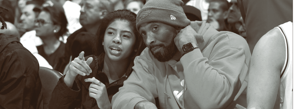 "Gianna ""Gigi"" Bryant (13 years old), Kobe Bryant (41 years old) and seven others perished in a helicopter crash on Jan. 26. (Derek Lee