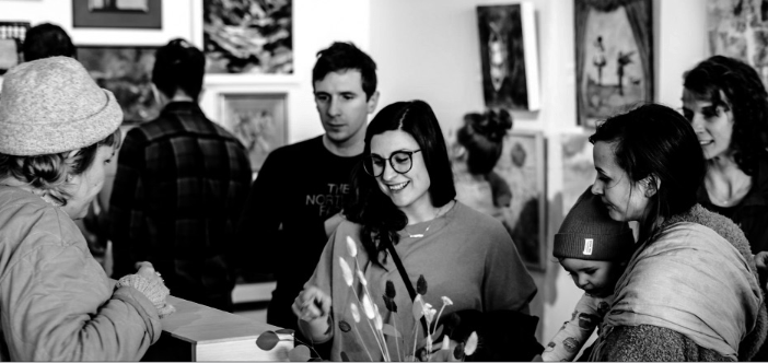 February's OLIO at the Kreuser Gallery. (Courtesy of OLIO, photo by Max Anderson)